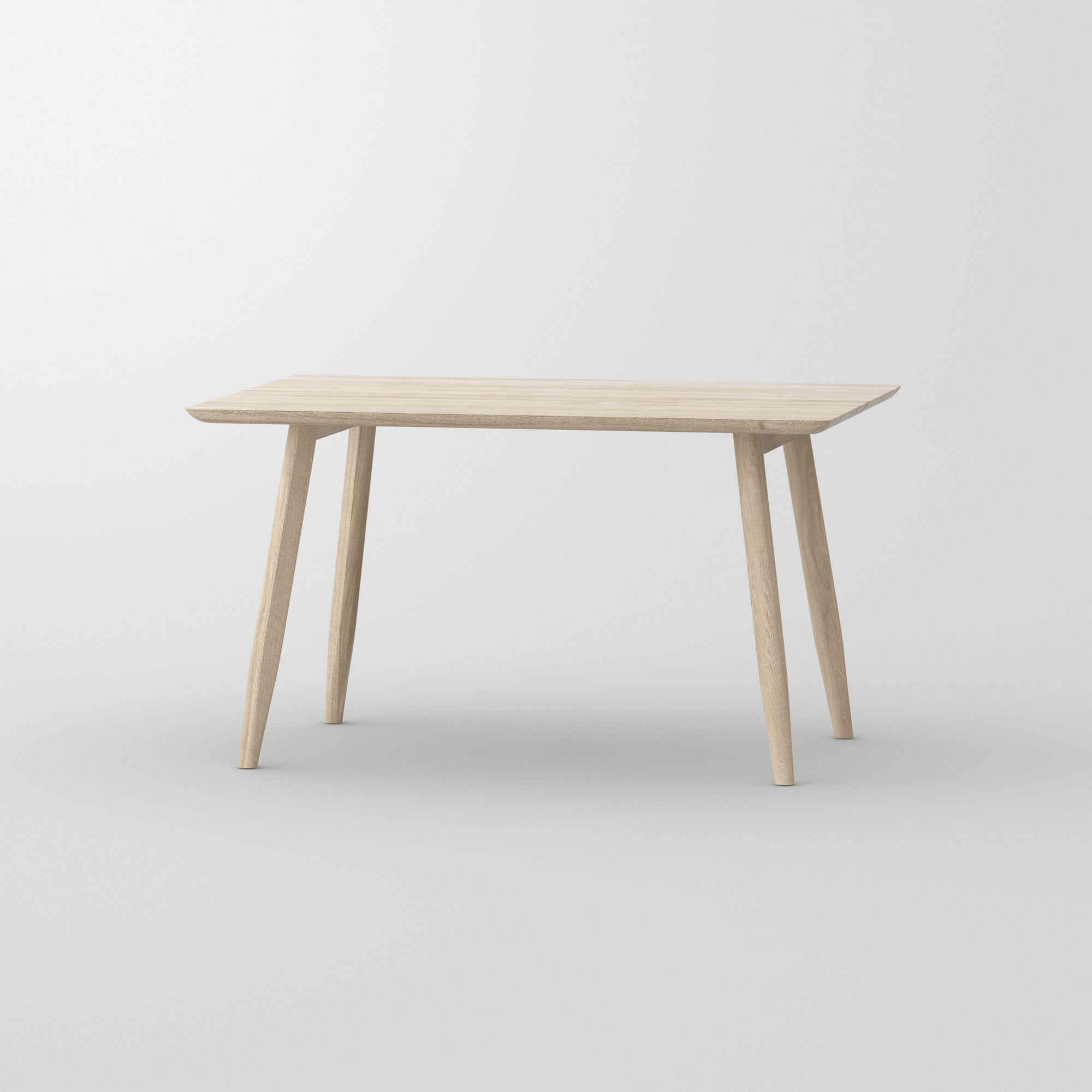 Designer Dining Table Wood AETAS BASIC 3 cam2 custom made in solid wood by vitamin design