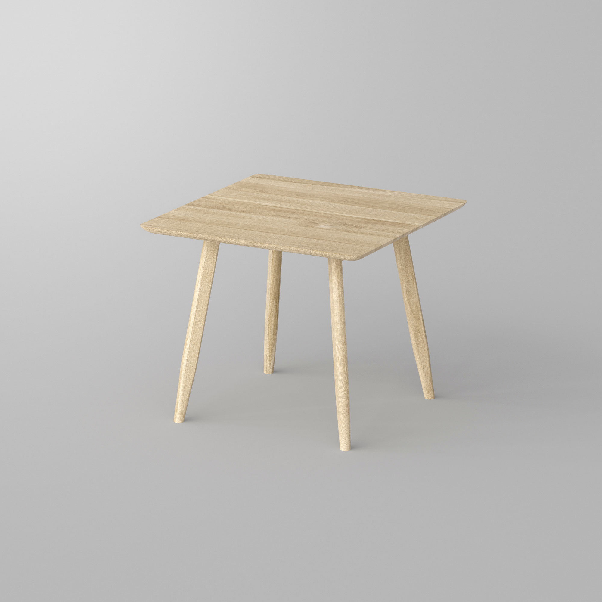 Designer Dining Table Wood AETAS BASIC 3 vitamin-design custom made in solid wood by vitamin design