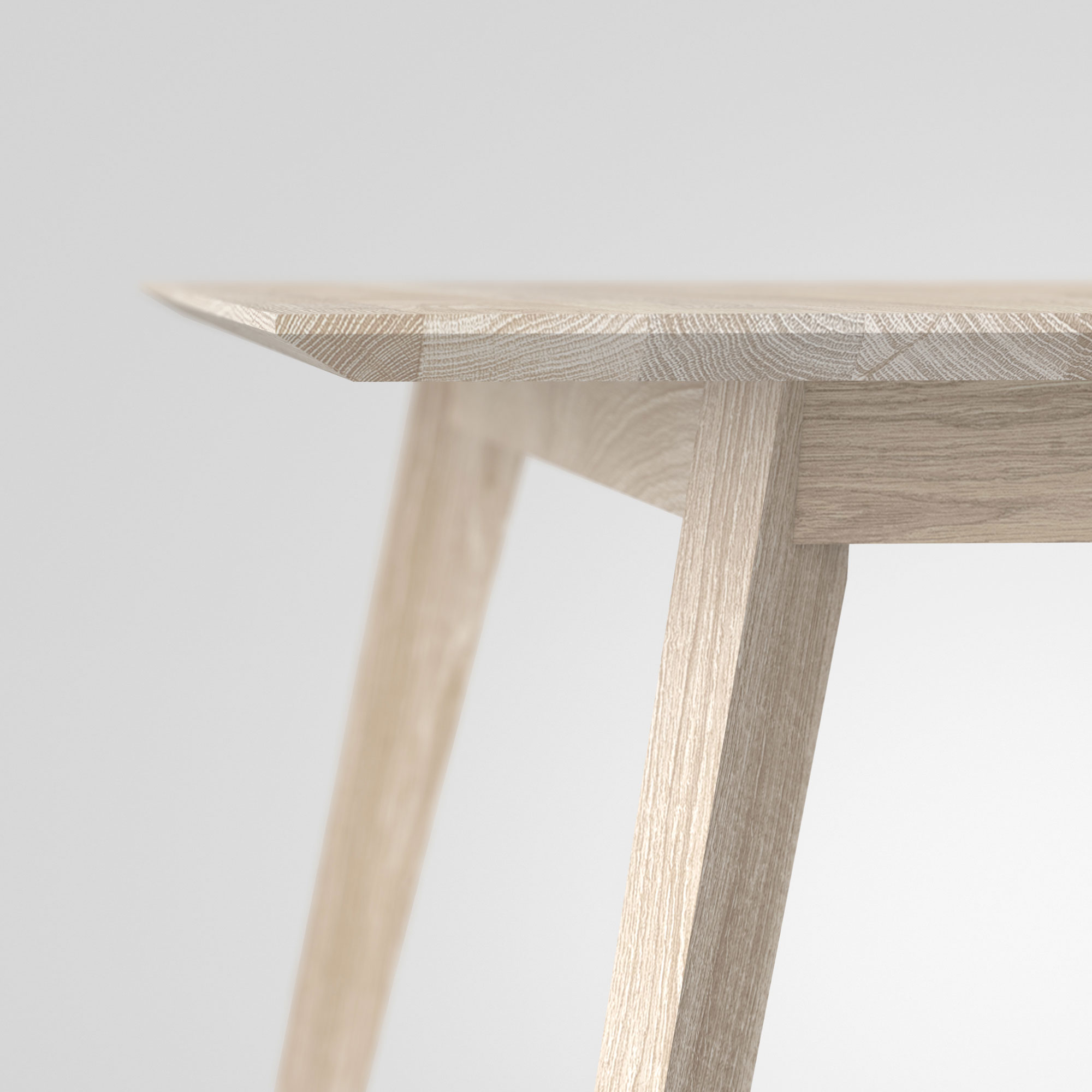 Solid Wood Dining Table CITIUS cam5 custom made in solid wood by vitamin design