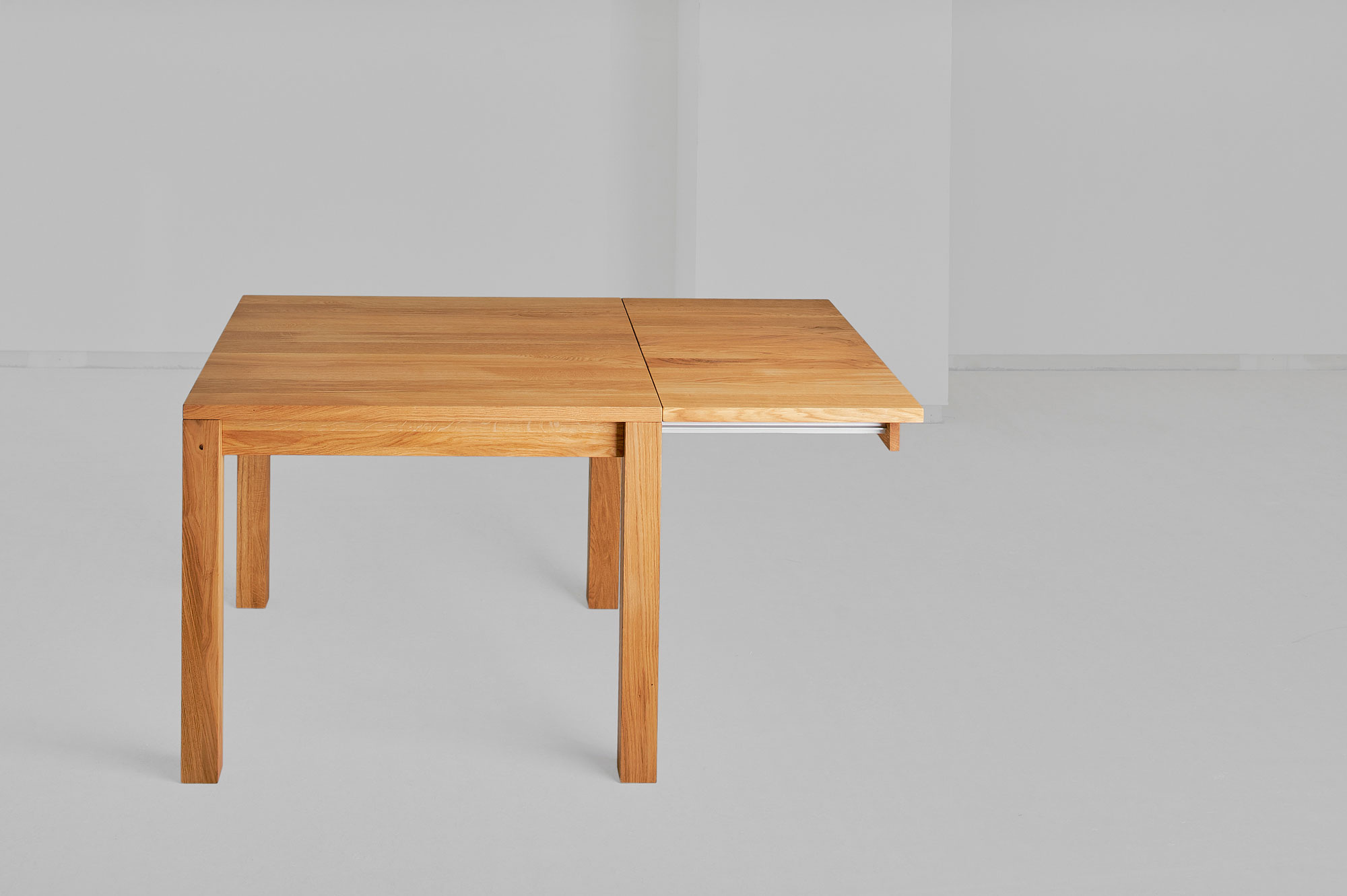 Solid Wood Dining Table CUBUS 3 B7X7 00163 custom made in solid wood by vitamin design