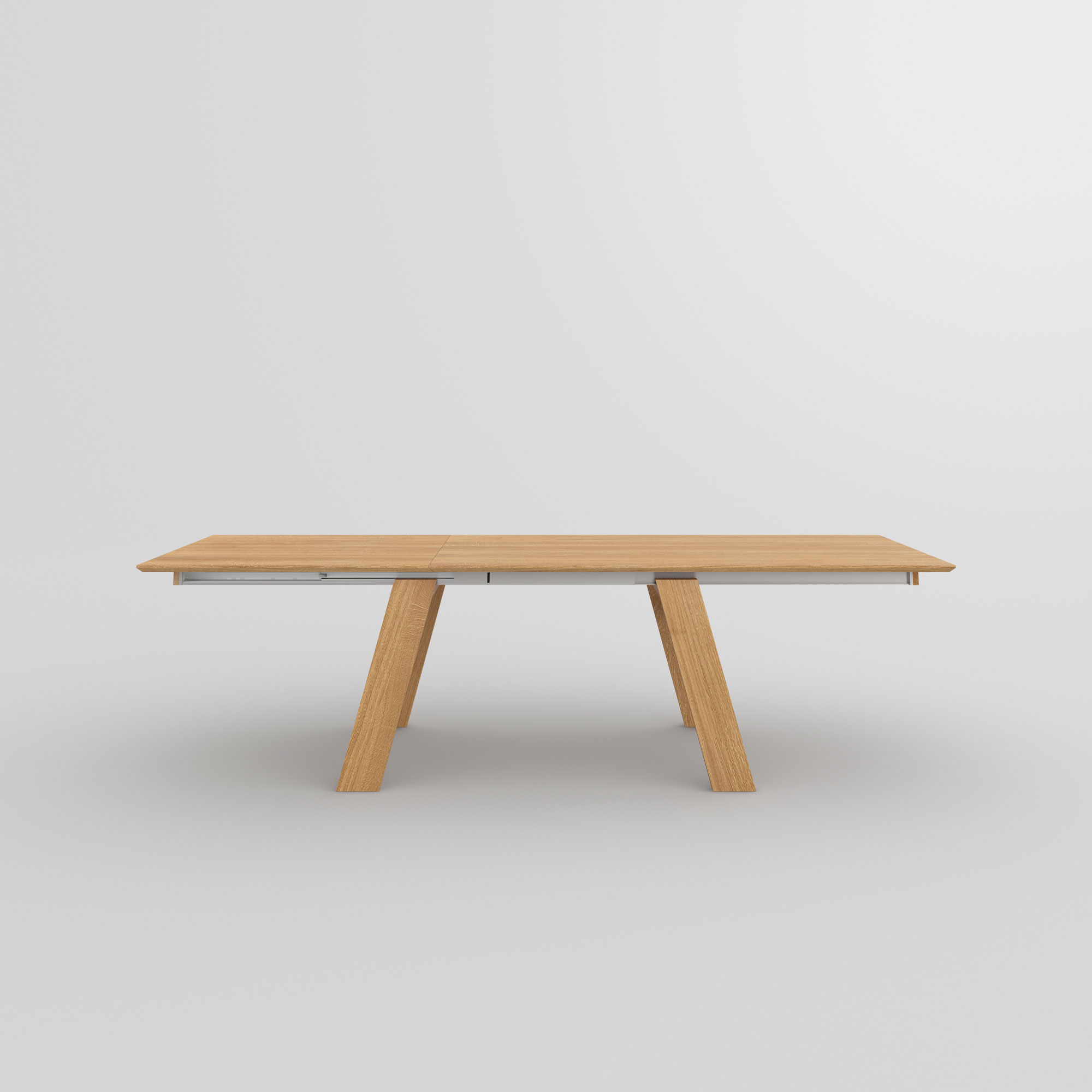 Solid Wood Extendable Table CULTUS BUTTERFLY cam2 custom made in solid wood by vitamin design