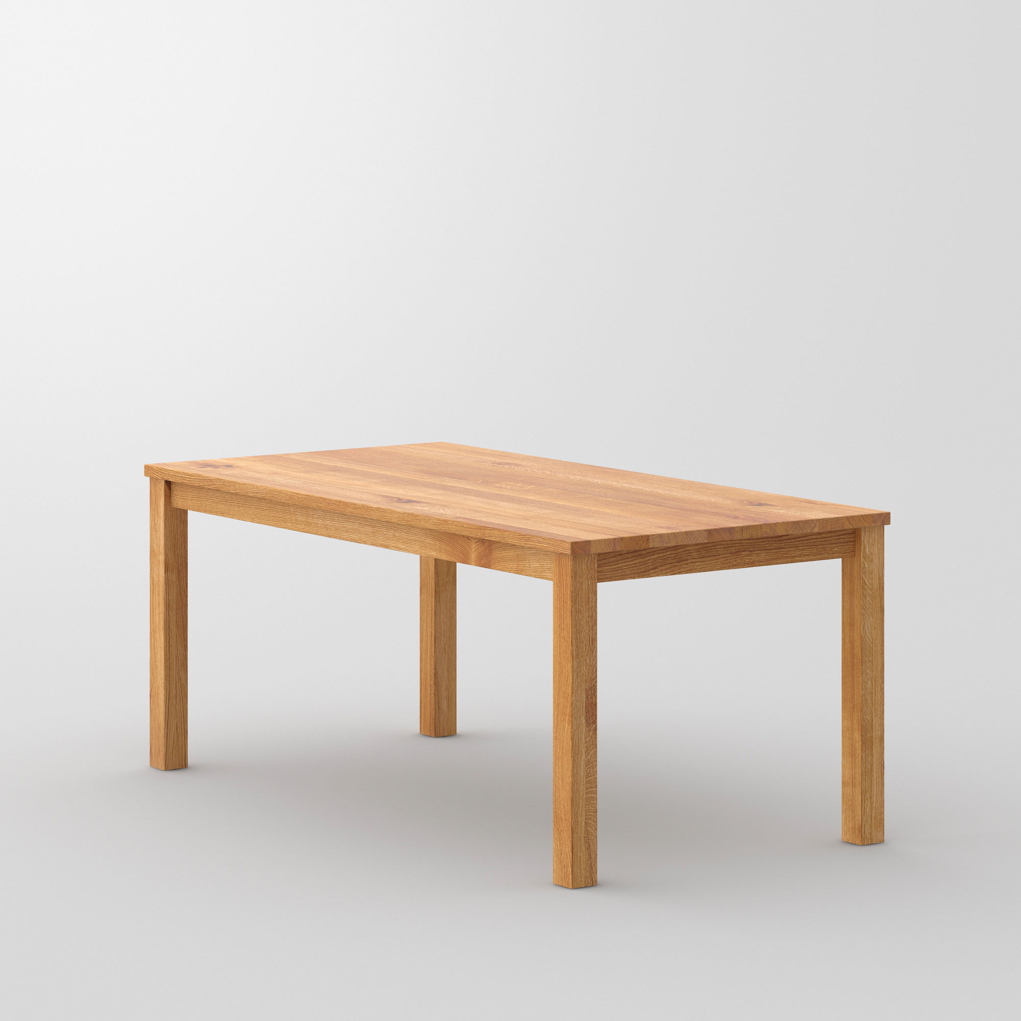 Custom-Made Solid Wood Table FORTE 3 B7X7 cam3 custom made in solid wood by vitamin design