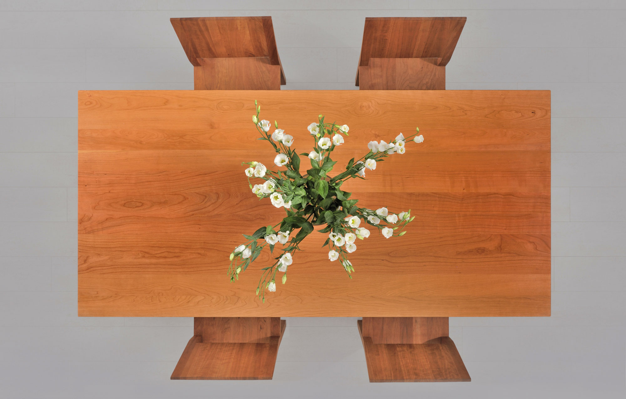 Tailor-Made Wood Table FORTE 3 B9X9 2239 custom made in solid wood by vitamin design