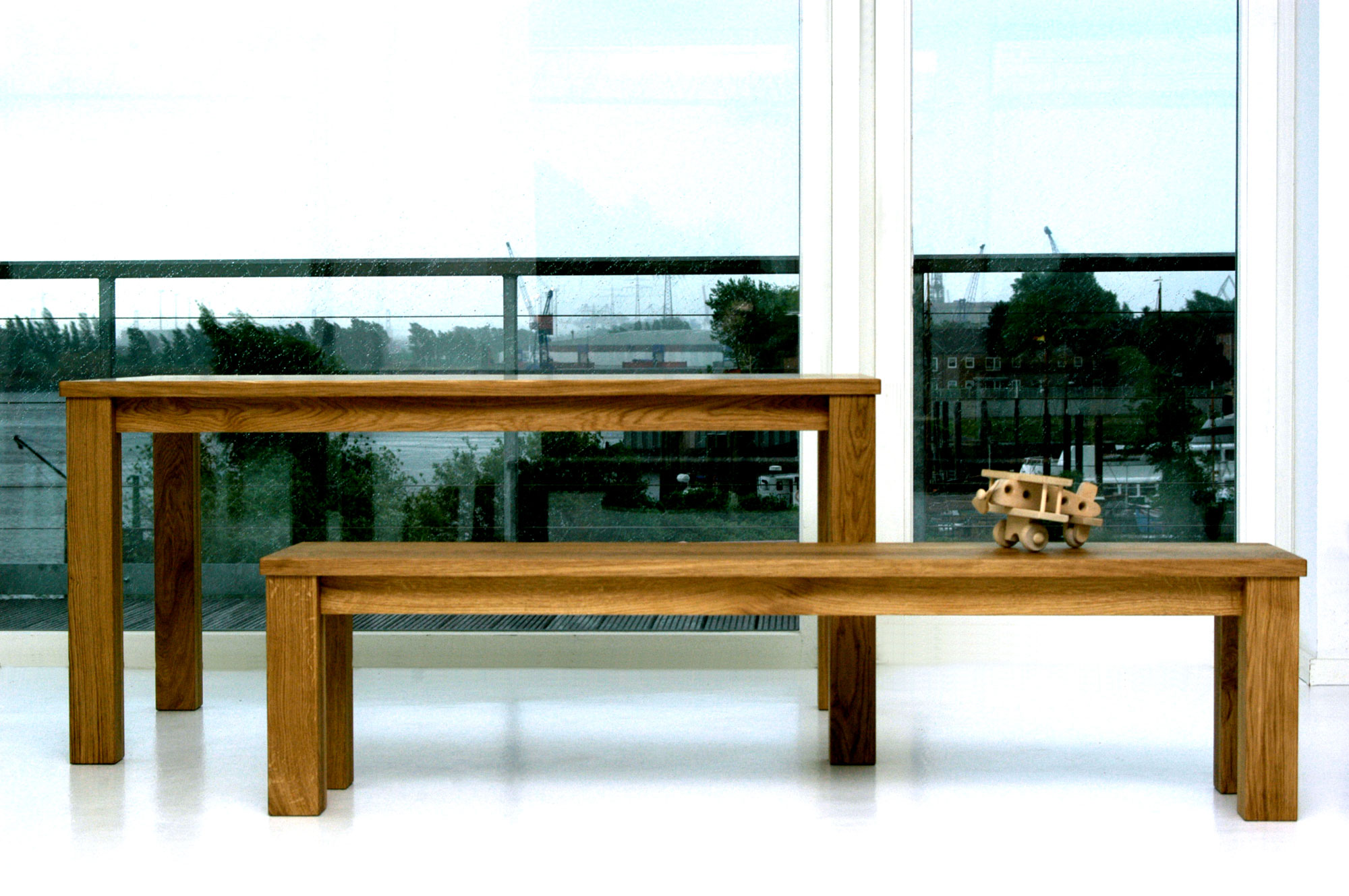 Tailor-Made Wood Table FORTE 3 B9X9 0064 custom made in solid wood by vitamin design