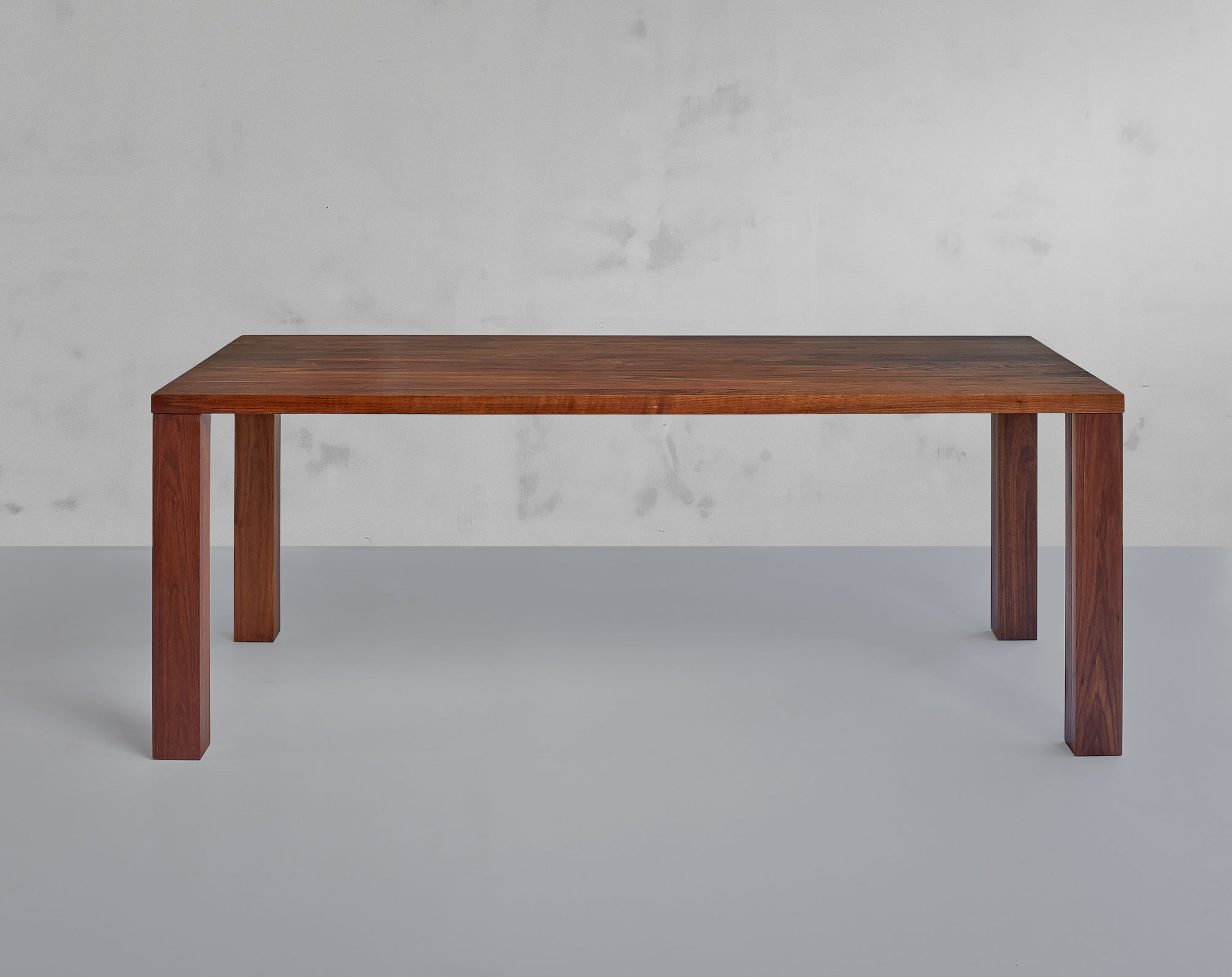 Frameless Solid Wood Table IUSTUS 0963pk custom made in solid wood by vitamin design