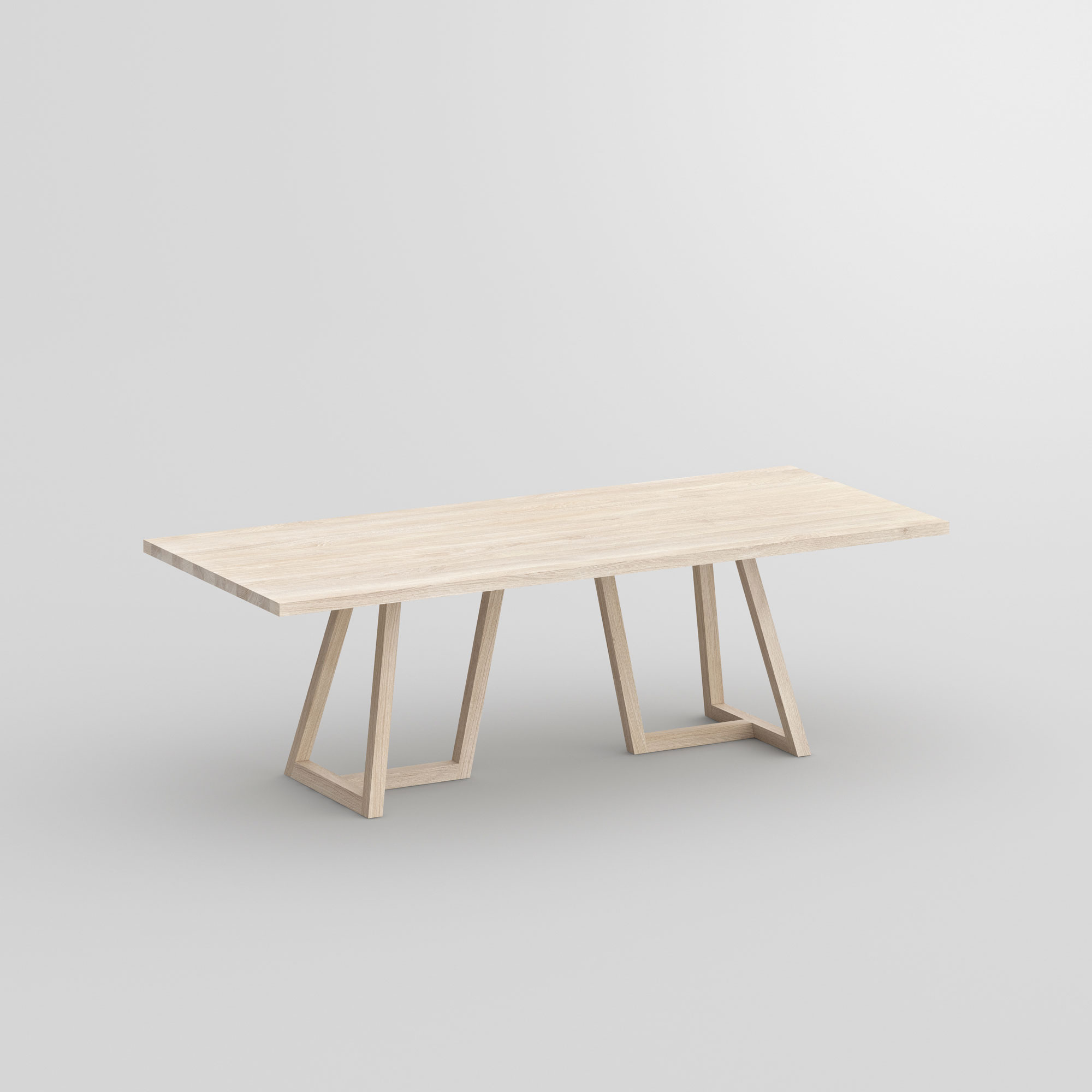 Designer Solid Wood Table MARGO cam1 custom made in solid wood by vitamin design