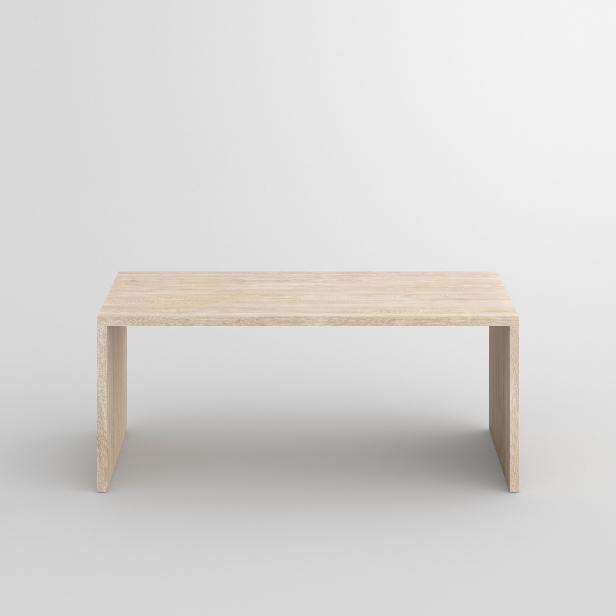 Gable Table MENA cam2 custom made in solid wood by vitamin design