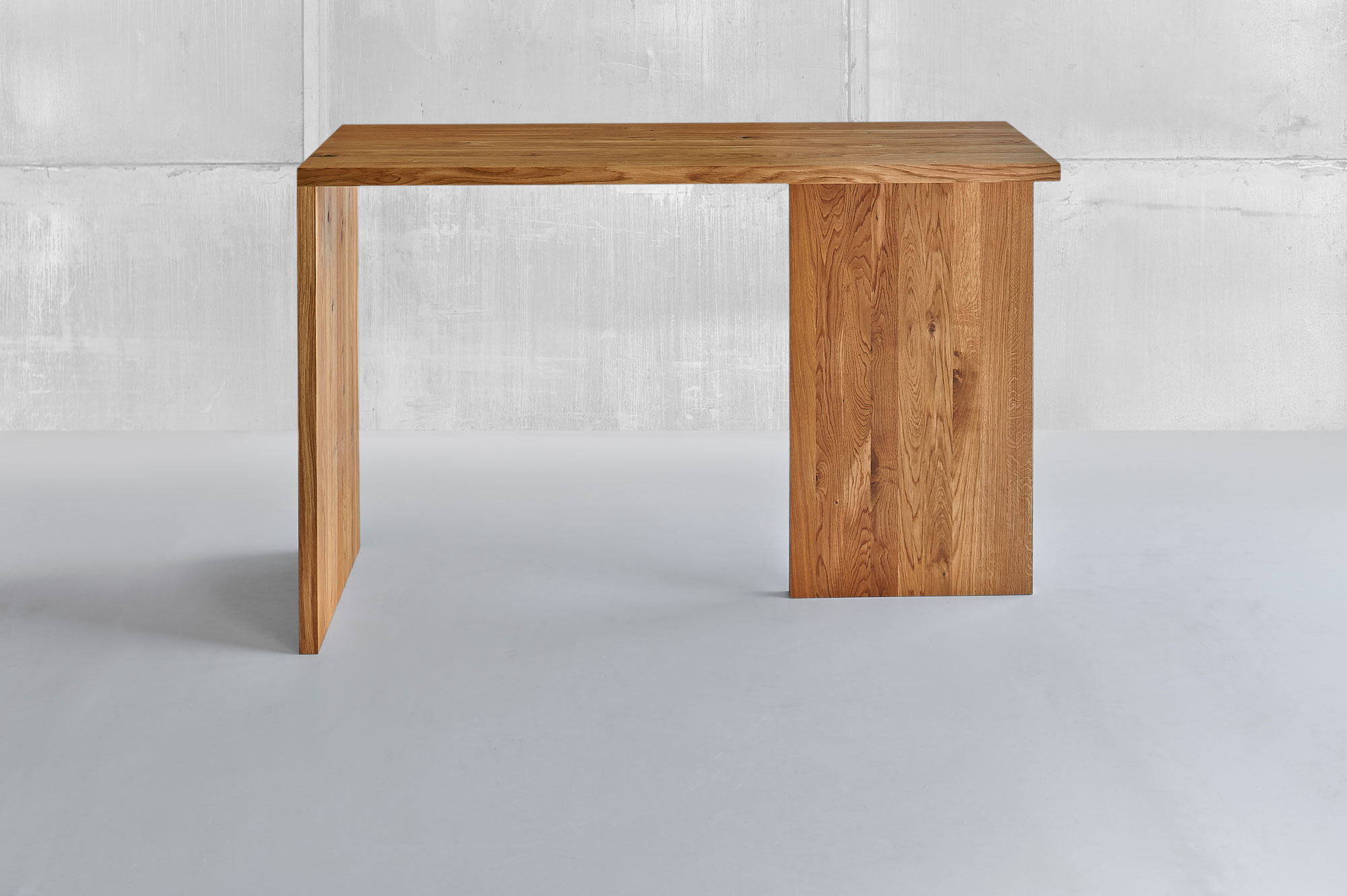 Solid Wood Console Table MENA CONSOLE 1458 custom made in solid wood by vitamin design