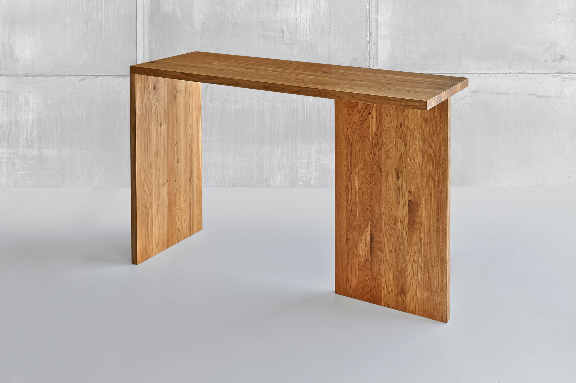 Solid Wood Console Table MENA CONSOLE 1460 custom made in solid wood by vitamin design
