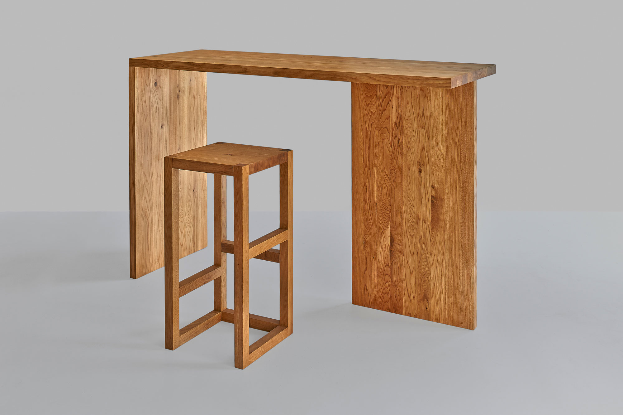 Solid Wood Console Table MENA CONSOLE 1468 custom made in solid wood by vitamin design