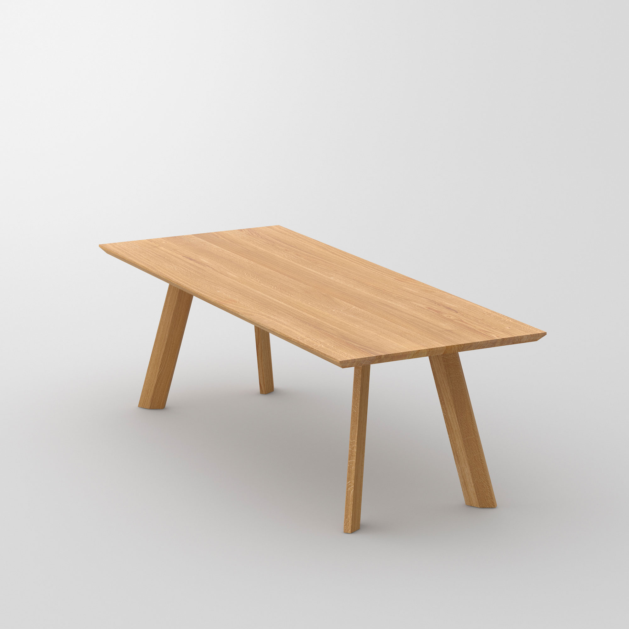 Designer Living Room Table RHOMBI BASIC cam2 custom made in solid wood by vitamin design