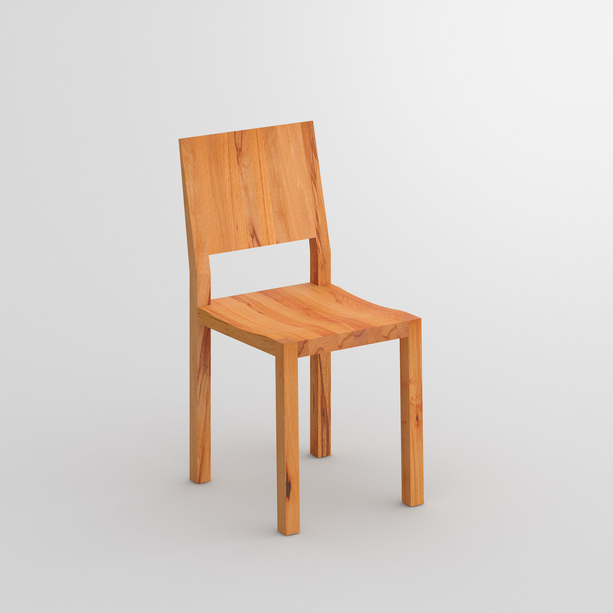 Solid Wood Chair TAU cam1 custom made in solid wood by vitamin design