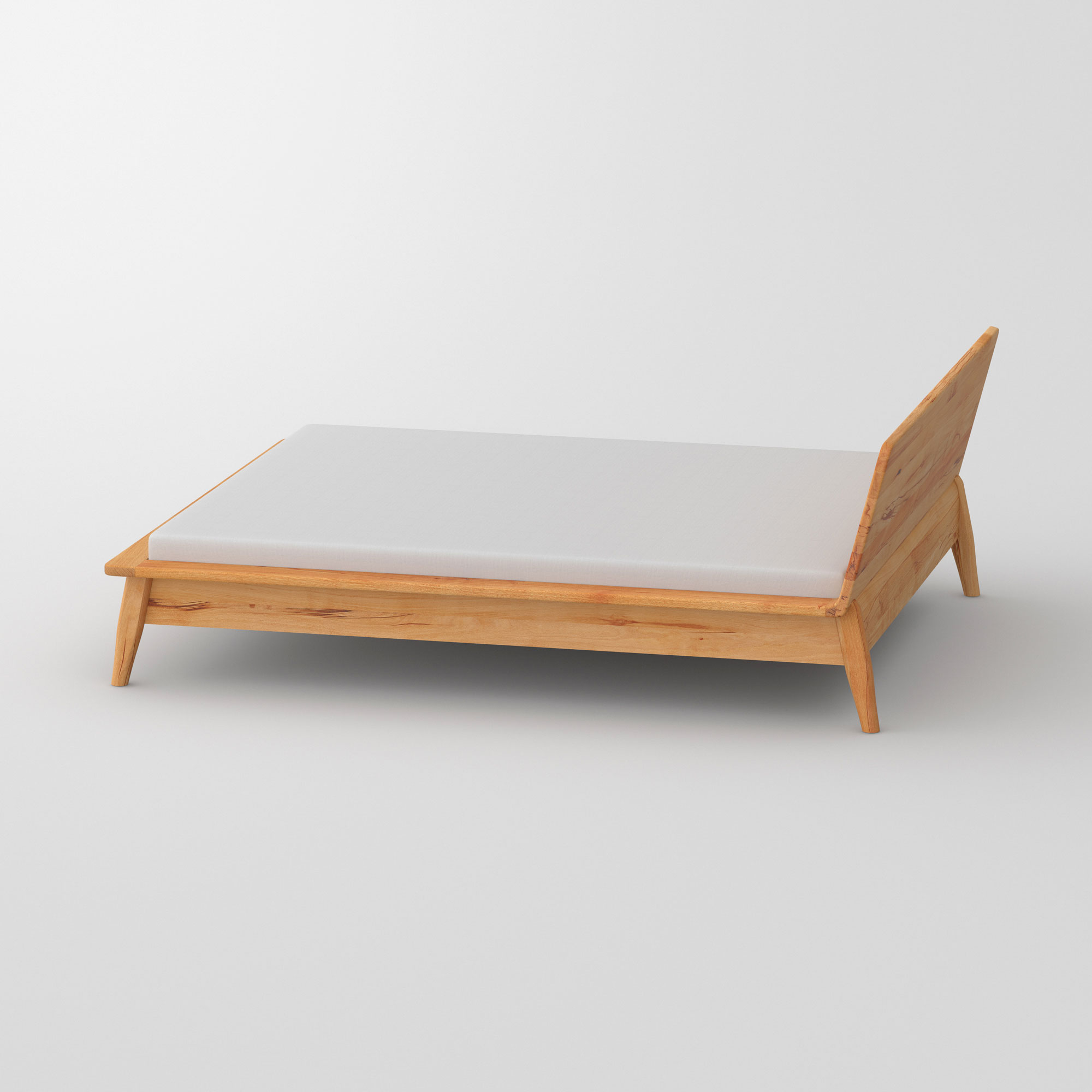 Designer Bed AETAS cam1 custom made in solid wood by vitamin design