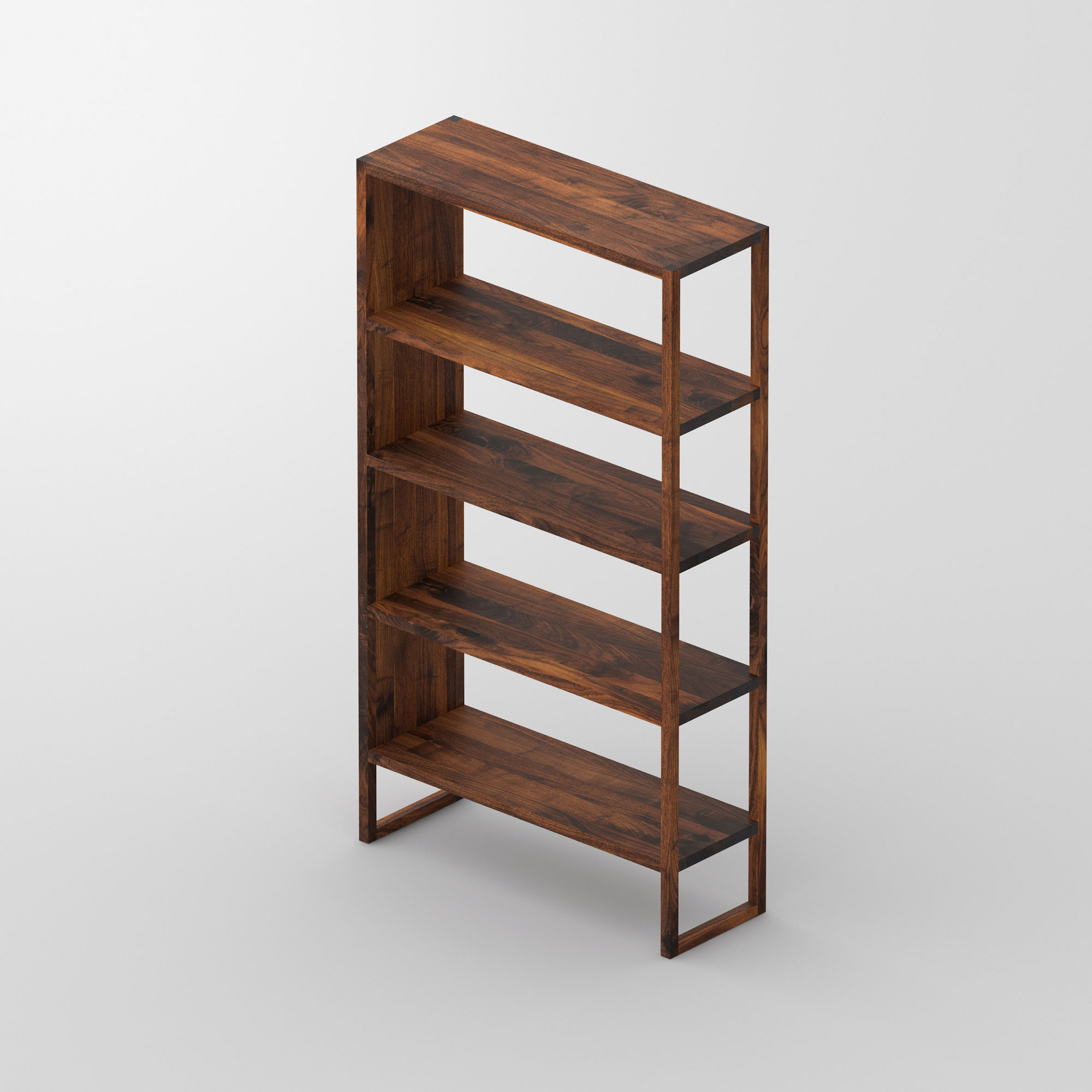 Linoleum Wood Shelf SENA cam3 custom made in solid wood by vitamin design