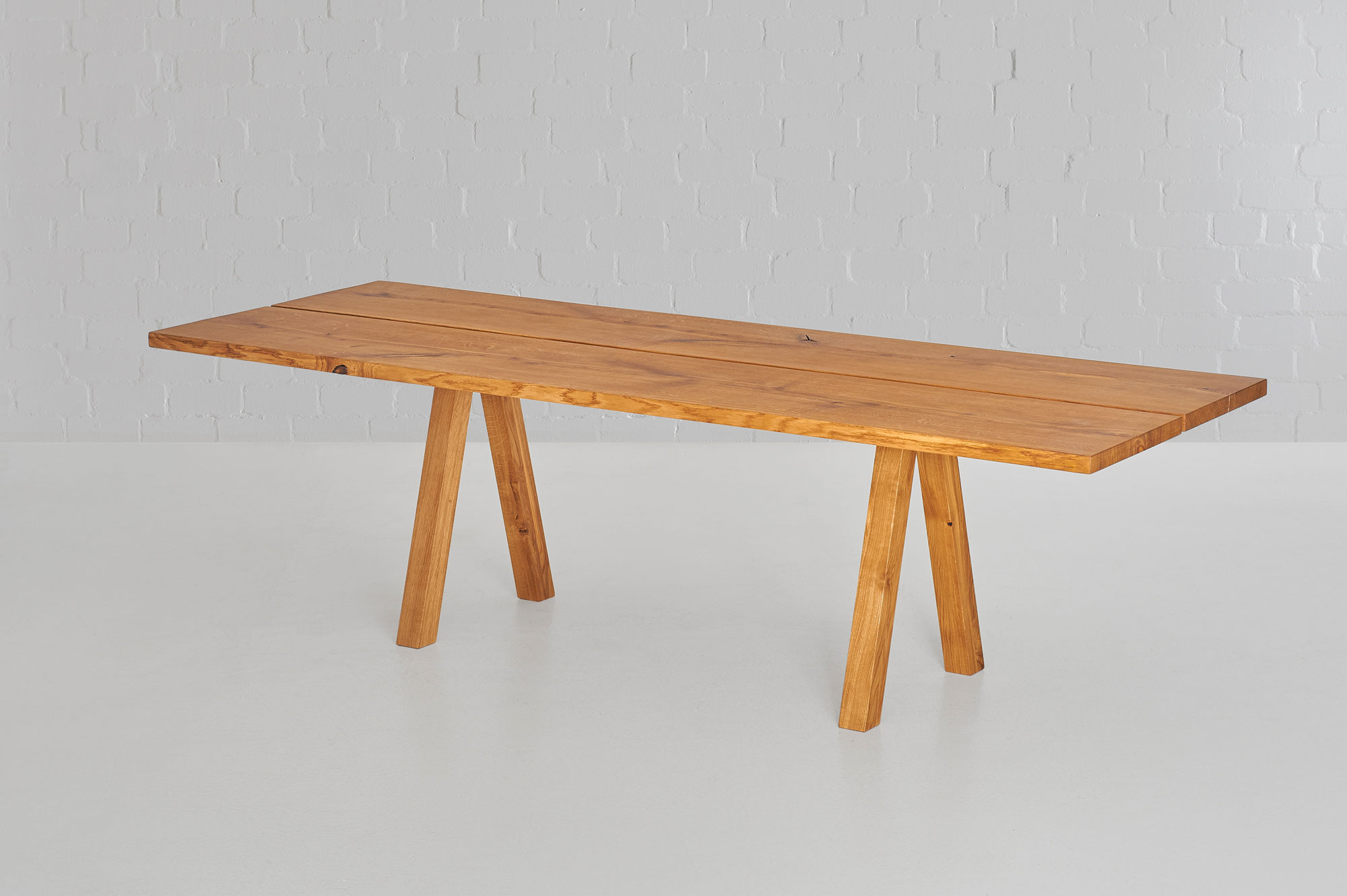 Designer Tree Trunk Table PAPILIO 0471 custom made in solid wood by vitamin design