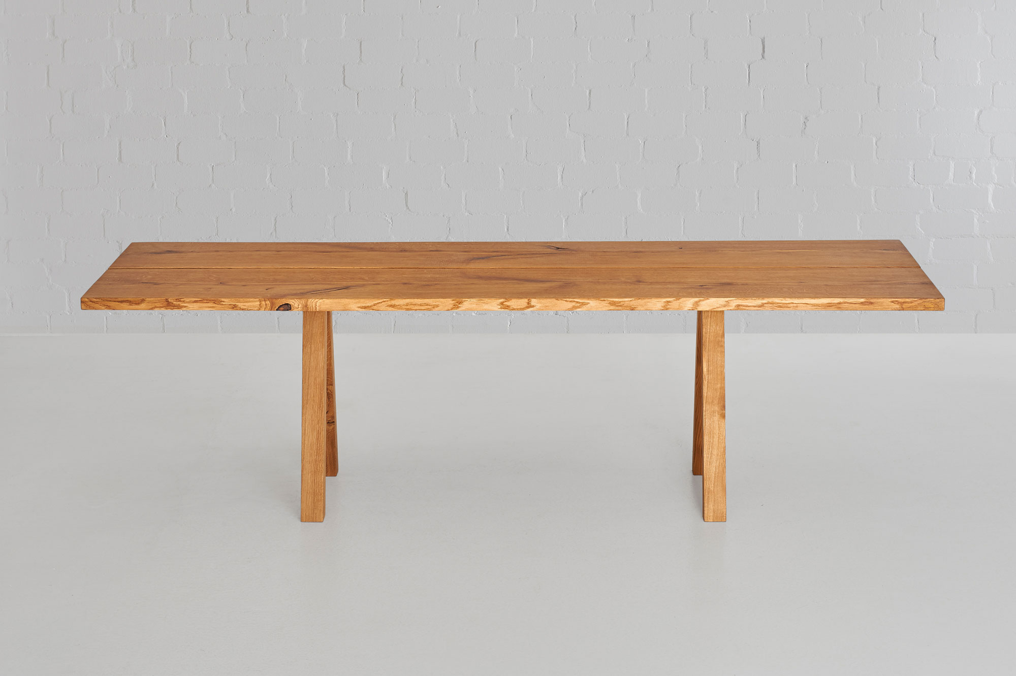Designer Tree Trunk Table PAPILIO 0473 custom made in solid wood by vitamin design