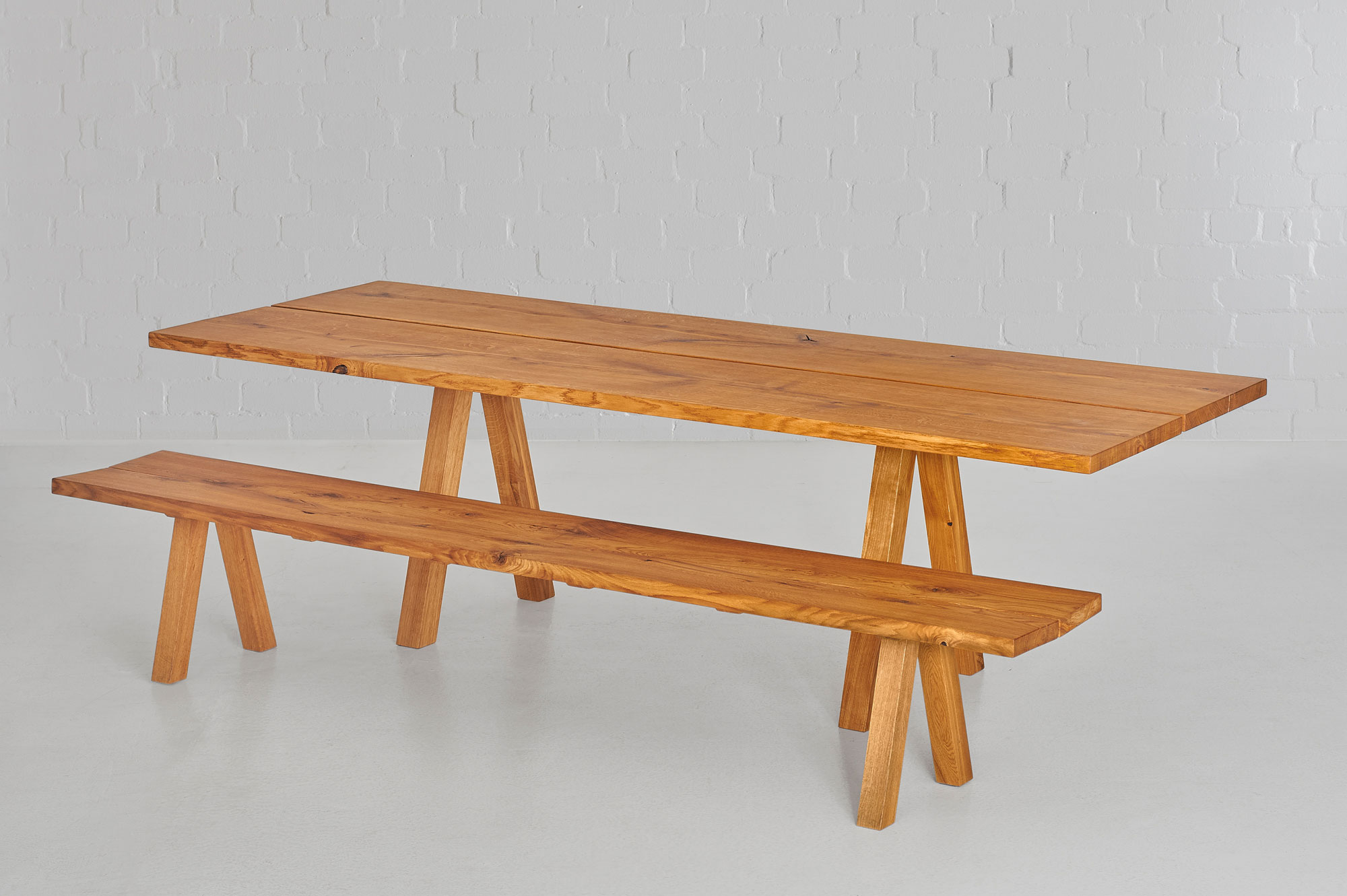 Designer Tree Trunk Table PAPILIO 0469 custom made in solid wood by vitamin design
