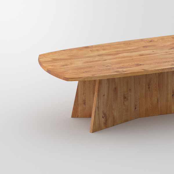 Design Dining Table LOTUS cam4 custom made in solid wood by vitamin design