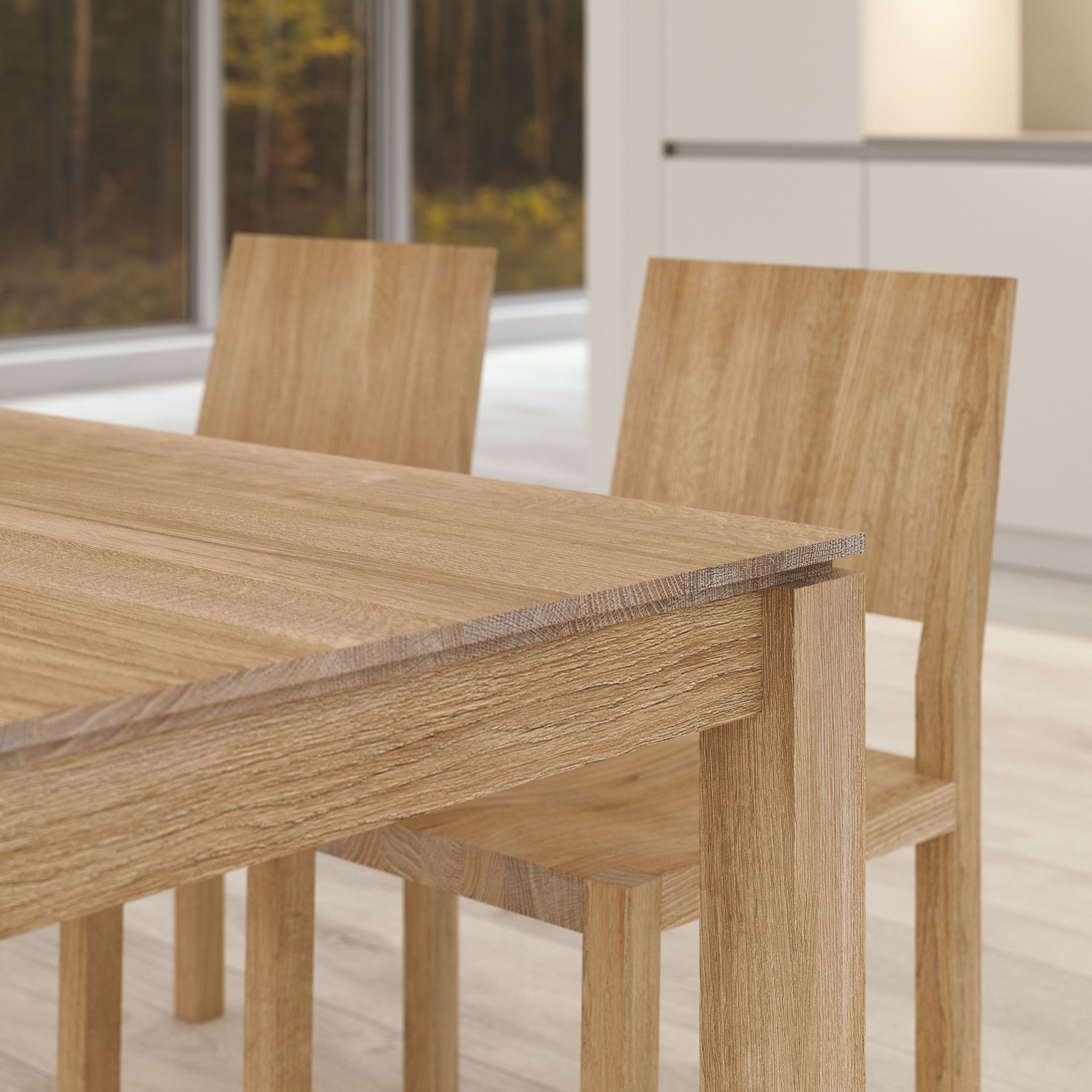 Extending Dining Table CONVERTO BUTTERFLY Final1 custom made in solid wood by vitamin design