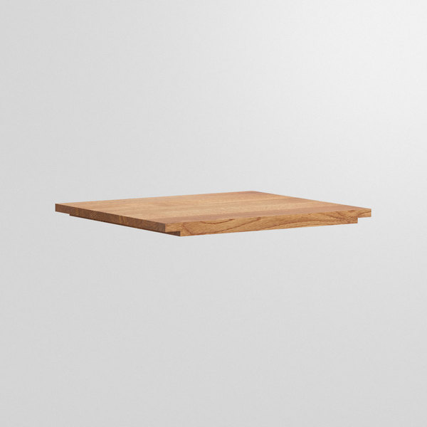 Accessory SERVING TRAY cam1 custom made in Solid knotty oak, oiled by vitamin design